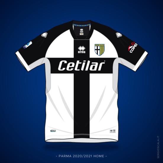 Parma home shirt 2020 2021 by Errea